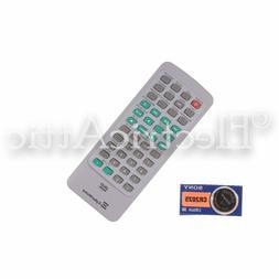 CYBERHOME CHLDV707B DVD Remote Control W/BATTERIES TESTED 1