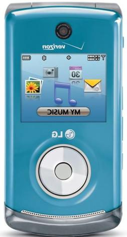 LG Chocolate 3 Phone, Light Blue