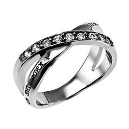 """Christian Womens Stainless Steel Abstinence Jeremiah 29:11 """""""