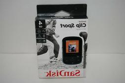 SanDisk Clip Sport 4GB MP3 Player Black NEW!