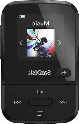 SanDisk - Clip Sport Go 16GB* MP3 Player - Black