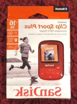 SanDisk - Clip Sport Plus 16GB - Bluetooth MP3 Player  NEW $