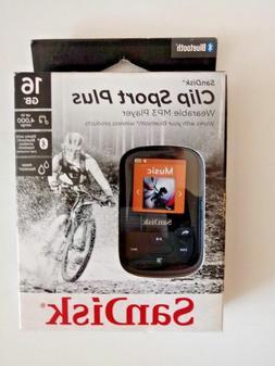 Sandisk - Clip Sport Plus 16gb* Mp3 Player, SDMX28-016G-A46k