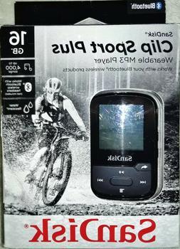 SanDisk Clip Sport Plus MP3 Player - Black, 16 GB