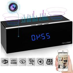 Clock Spy Camera - Wireless Home Hidden Cam - Security Nanny