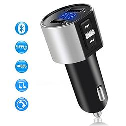 Comsoon Bluetooth FM Transmistter for Car, Wireless In-Car B
