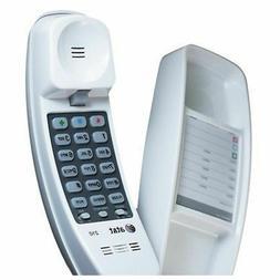Corded Telephone Home Desk Wall Mount Landline White Handset