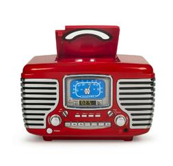 Crosley CR612D-RE Corsair Retro AM/FM Dual Alarm Clock Radio