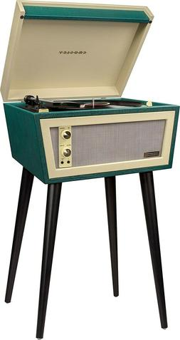 CROSLEY CR6231D-GR Dansette Sterling Green Turntable Record