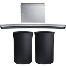 Samsung 4.1 Channel 320W Curved Wireless Audio Soundbar, Whi