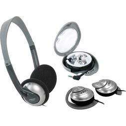 Coby CV321 3-In-1 Headphone Combo