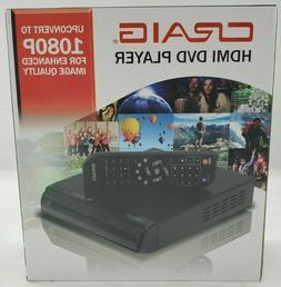 Craig CVD401a DVD Player 1080p w/ HDMI and Remote DVD-R/DVD-