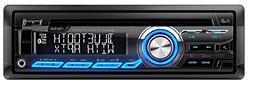 Cz305 Single-Din Cd/Usb/Mp3/Wma Receiver with Bluetooth & Pa