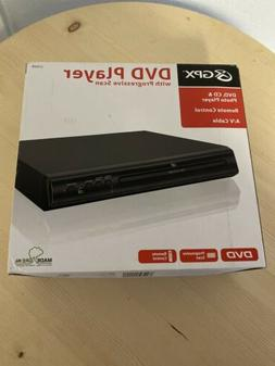 GPX D200B DVD Player - BRAND NEW In-Box - Remote Control + A