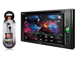 """Pioneer in-Dash Double DIN 6.2"""" WVGA Display Built-in Blueto"""