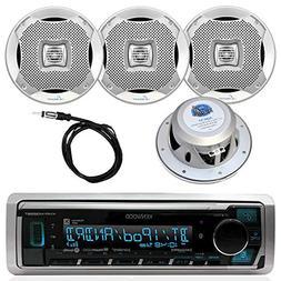New Kenwood In Dash Marine Boat Yacht Bluetooth Digital USB