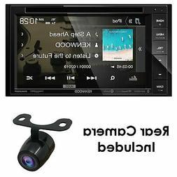 "KENWOOD DDX26BT 6.2"" DOUBLE DIN TOUCHSCREEN CAR STEREO DVD B"