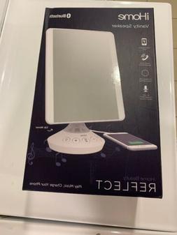 """DEAL! iHome 7"""" x 9"""" Reflect iCVBT2 Adjustable Vanity Mirror"""