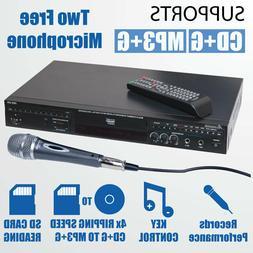 Acesonic DGX 220 Ripping Recording Karaoke DVD/CDG Player US