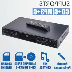 Acesonic DGX 220 HDMI CDG Karaoke Player w/ Digital Recordin
