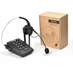 AGPtek Dialpad with Headset Corded Phone  Telephone with Hea