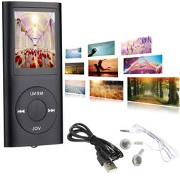 Digital LCD Screen Mp3 Mp4 Player 64Gb Max Media Video Radio