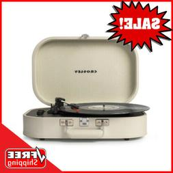 Crosley Discovery 3-Speed Portable Bluetooth Turntable with
