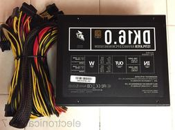 1STPLAYER DK16.0 1600W 80 Plus Gold ATX Power Supply, Active