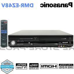 Panasonic DMR-EZ48V DVD VCR Combo Player VHS to DVD Recordin