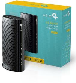 TP-LINK Docsis 3.0 Cable Modem Broadcom 16X4CH Bongding 1 Ge