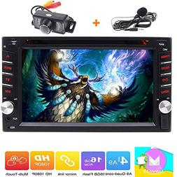Double 2 Din Head Unit EinCar Android 6.0 Car Stereo with 6.