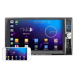 "Double 2Din 6.6"" Car Stereo MP3/5 Player HD In Dash Bluetoot"