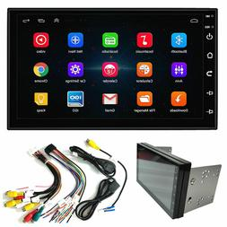 "Double 2Din Android 8.1 7"" 1080P Car pLAYER Stereo Radio GPS"