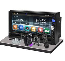 """CarThree Double Din Car Stereo 2 Din Radio 7"""" LCD Touch Scre"""