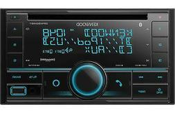 Kenwood DPX504BT Double 2 DIN CD Player Bluetooth SiriusXM