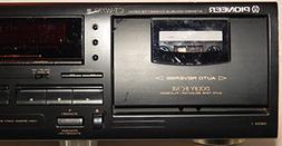 Pioneer Dual Cassette Deck Home Unit CT-W770 High Speed Dubb