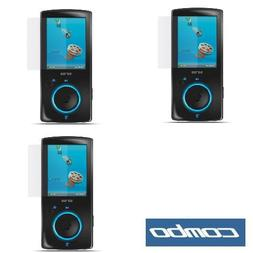 Durable Clear Reusable LCD Screen Protector - 3 Packs for Sa