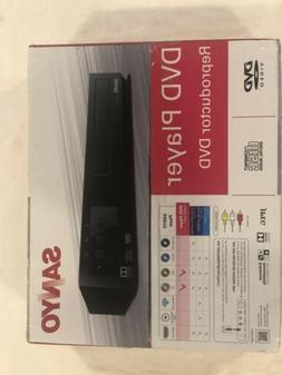 Sanyo DVD Player FWDP105F Brand New! FREE SHIPPING