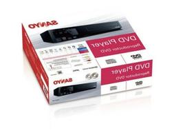 Sanyo DVD Player FWDP105F Brand New!