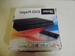 GPX DVD PLAYER WITH REMOTE CONTROL A/V CABLES MODEL D200B