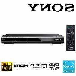 Sony 1080p Full HD Upscaling Multi-format DVD CD Player w/ H