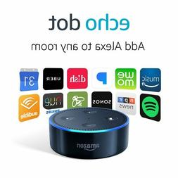 NEW AMAZON ECHO DOT  WITH ALEXA SMART ASSISTANT - BLACK