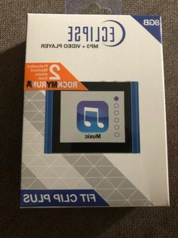 "Eclipse BLUE 8GB USB-2.0 Digital MP3/Video Player 1.8"" LCD &"