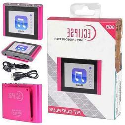 Eclipse Fit Clip Plus PK 8GB MP3 Digital Music/Video Player