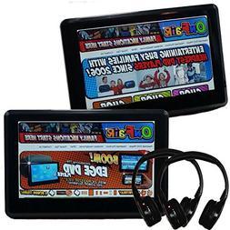 Autotain  EDGE 10.1 inch  Slim Car TV Active Headrest Monito