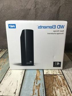WD Elements Desktop USB 3.0 4 TB External Hard Drive - WDBWL