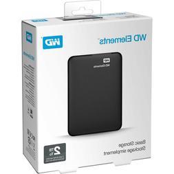 WD 2TB Elements Portable External Hard Drive WDBU6Y0020BBK-N