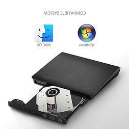 Elephant XuUSB 3.0 External CD/DVD-RW Burner Writer Player H
