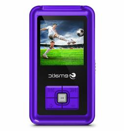 Ematic EM208VIDPR 8GB MP3 Video Player with FM Tuner/Recorde