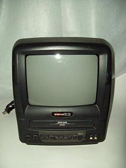 Emerson EWC0903 TV VCR Combo 9 Inch AC / DC Compatible  Port
